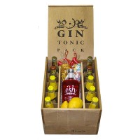 Kit Gin Tonic Ish Gin + 2 tónicas Fentimans, 2 Fever Tree y 6 Schweppes