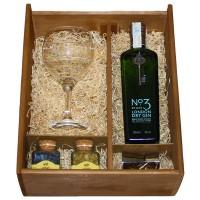 Kit Gin Nº3 con copa, medidor y botánicos