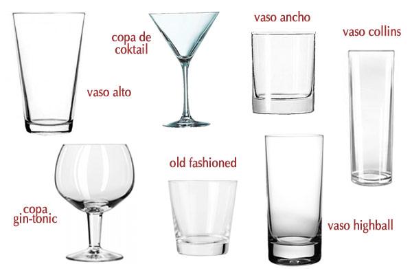Cu l es el tipo de copa apropiado para cada bebida for Copas para whisky