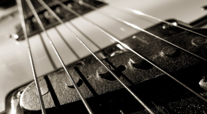 Guitar-Monochrome-HD-Wallpaper