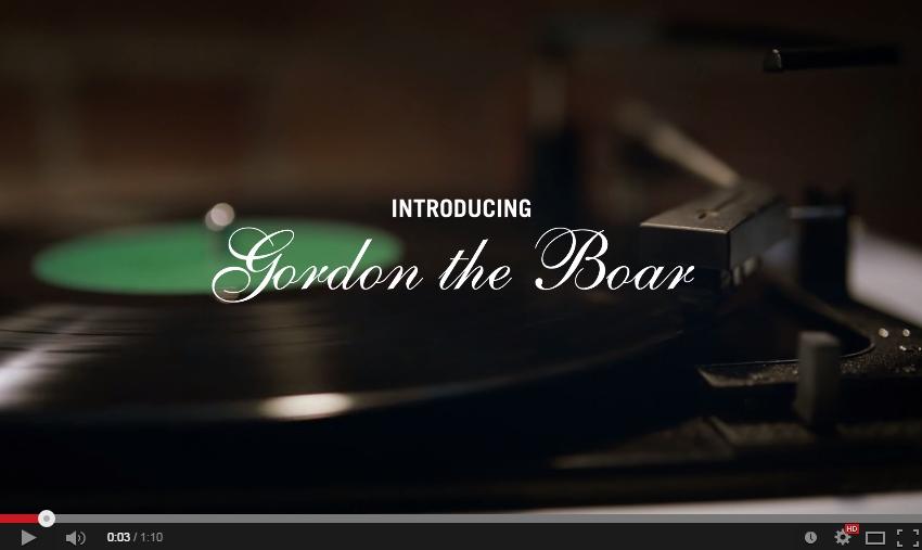 Gordon's Gin presents: #GordonTheBoar