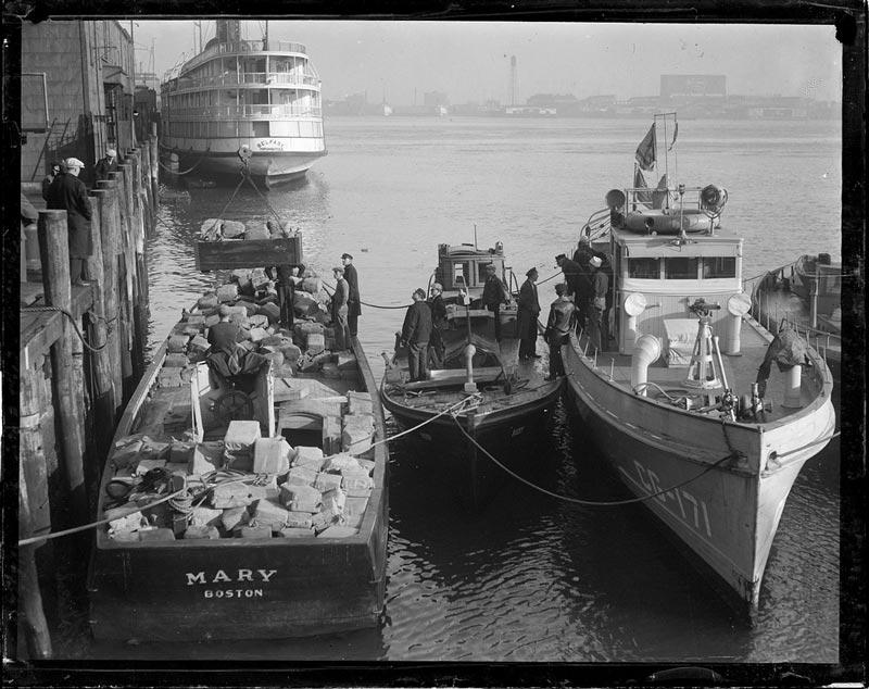 Barco incautado en Boston con alcohol por valor de 175.000$