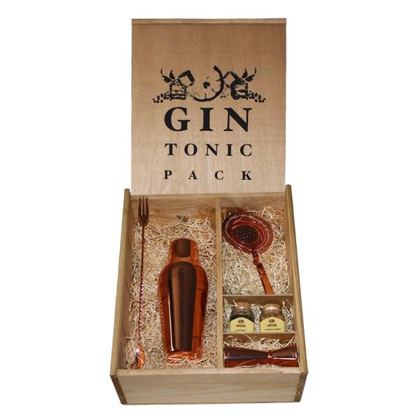 kit utensilios cobre gin tonic