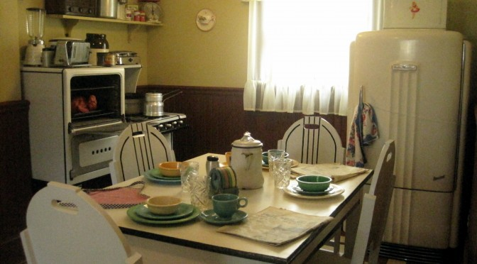 Kitchen at A Christmas Story House